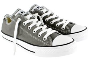5a4d3a1db7321c Converse Unisex Chuck Taylor All Star Low Top Charcoal Sneakers – 12 B US  Women   10 D US Men