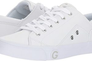 09260beb13522 G By GUESS Women's Oryder Logo-Embossed Suede Lace-up Sneakers ...