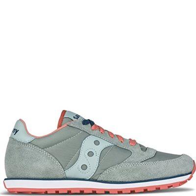 save off 2c912 a262e Saucony Originals Women s Jazz Lowpro Fashion Sneakers, Grey Blue, 8 M US