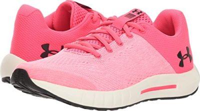 new arrival 8d0c6 162ce Under Armour Girls' Grade School Pursuit Sneaker, Penta Pink ...
