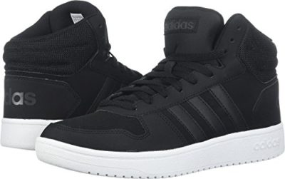 super popular 2a83e 278c9 Adidas Mens Hoops 2.0 Mid Sneaker, BlackBlackCarbon, 8.5 M US