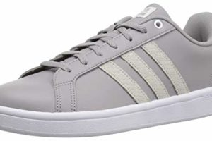 Adidas Women's Cf Advantage Sneaker, Light GraniteWhite